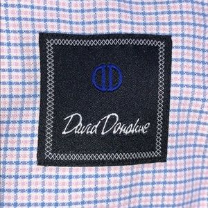 Mint condition David Donahue men's dress shirt.